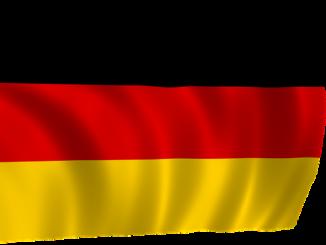 Die Deutschlandflagge