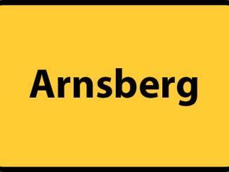 Arnsberg Ortsschild