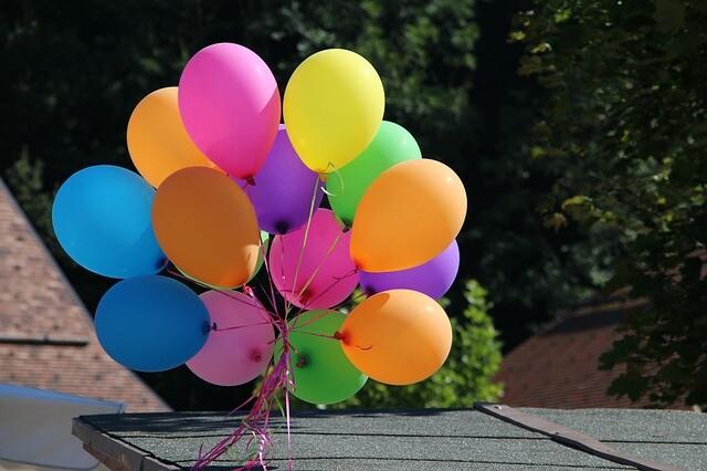 Luftpumpe für Ballons