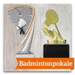 Badminton Pokale