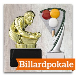 Billard Pokale