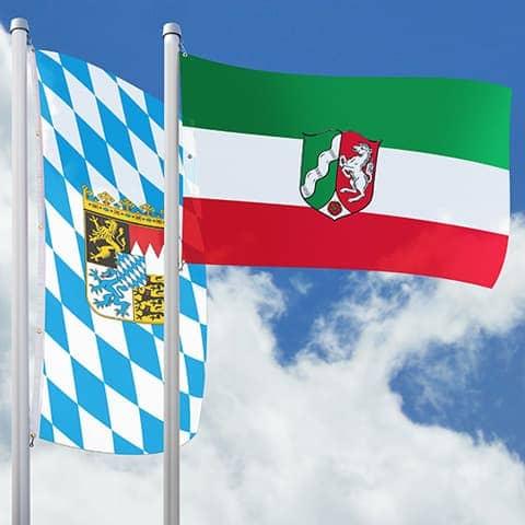Bundeslandfahnen
