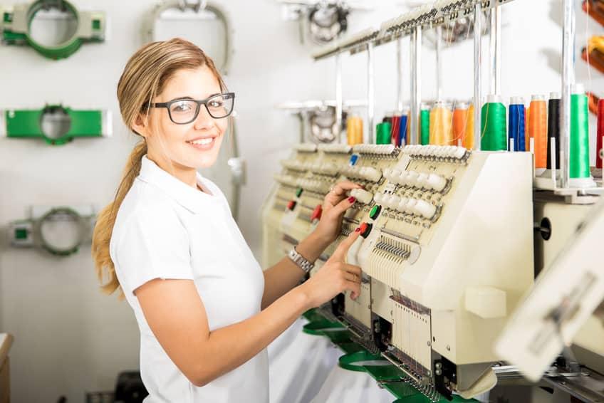Herstellung von Patches, Aufnähern und Stickabzeichen
