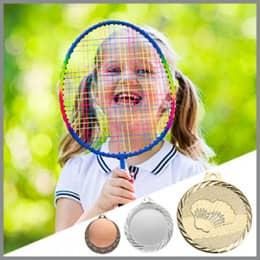 Badminton Medaillen