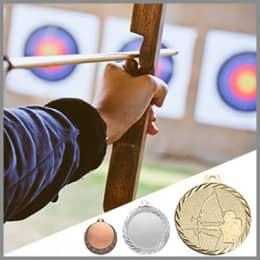 Bogenschützen Medaillen