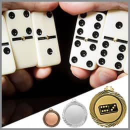 Domino Medaillen