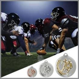 American Football Medaillen