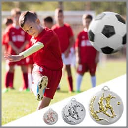 Fußball Medaillen