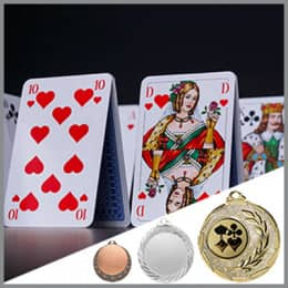 Karten Medaillen