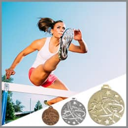 Leichtathletik Medaillen