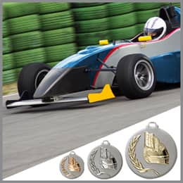 Motorsport Medaillen