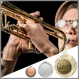 Musik Medaillen