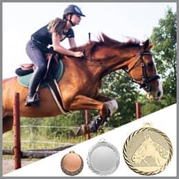 Reitsport Medaillen