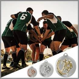 Rugby Medaillen