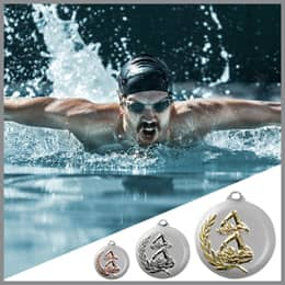 Schwimm Medaillen