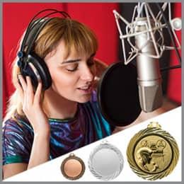 Gesangs Medaillen