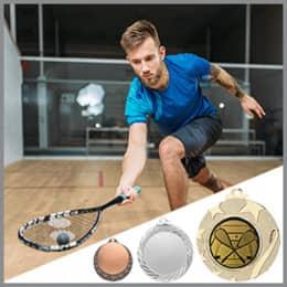 Squash Medaillen