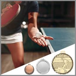 Tischtennis Medaillen