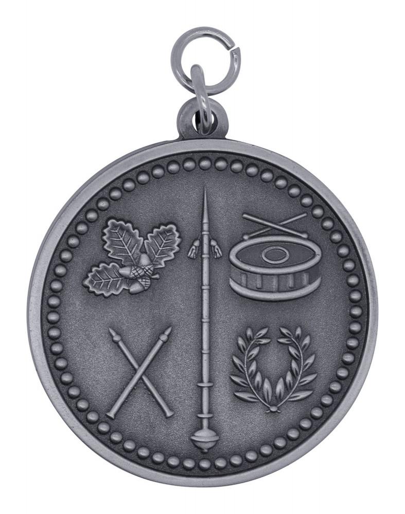 "Medaille ""Spielmannszug"" altsilber"
