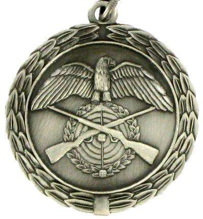 Medaille - altsilber