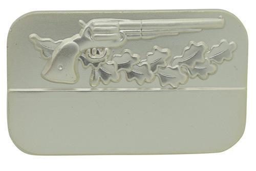 Meisterschaftabzeichen Revolver silber