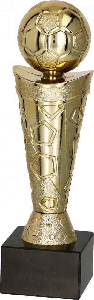 Fußballpokale 3er Serie TRY9061 gold