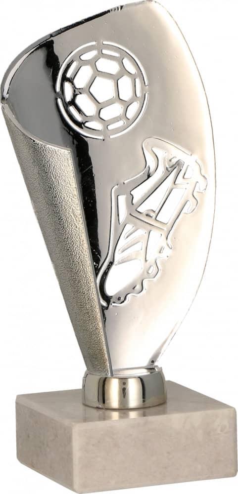 Fußball-Pokale 3er Serie TRY9081 silber