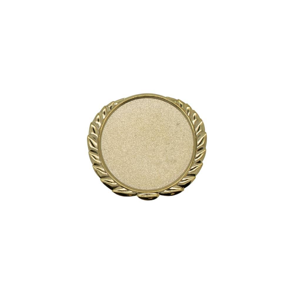Expresspin Rund mit Kranz gold