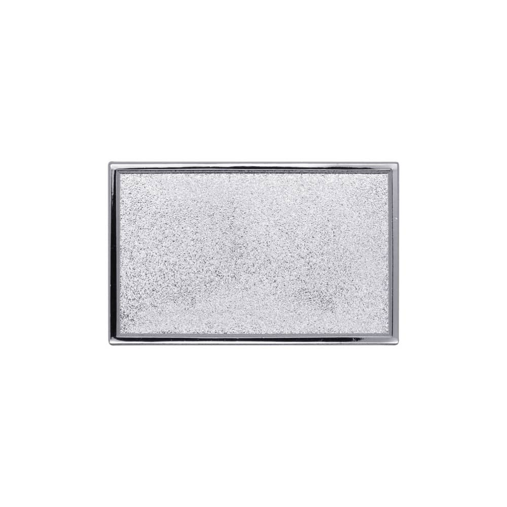 Expresspin rechteckig 40 x 25mm silber