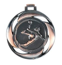 "Medaille ""Handball"" Ø 40mm mit Band Bronze"