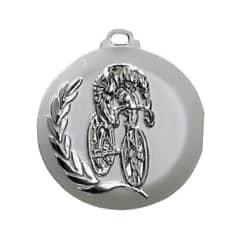 """Medaille """"Radfahrer"""" silber"""
