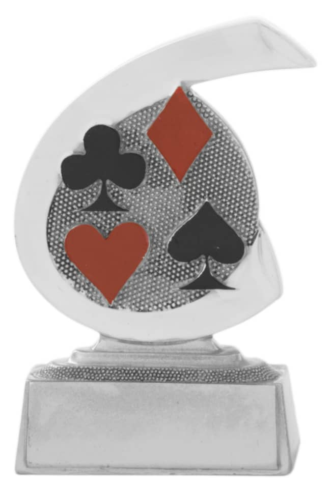 Pokerpokal C650 silber