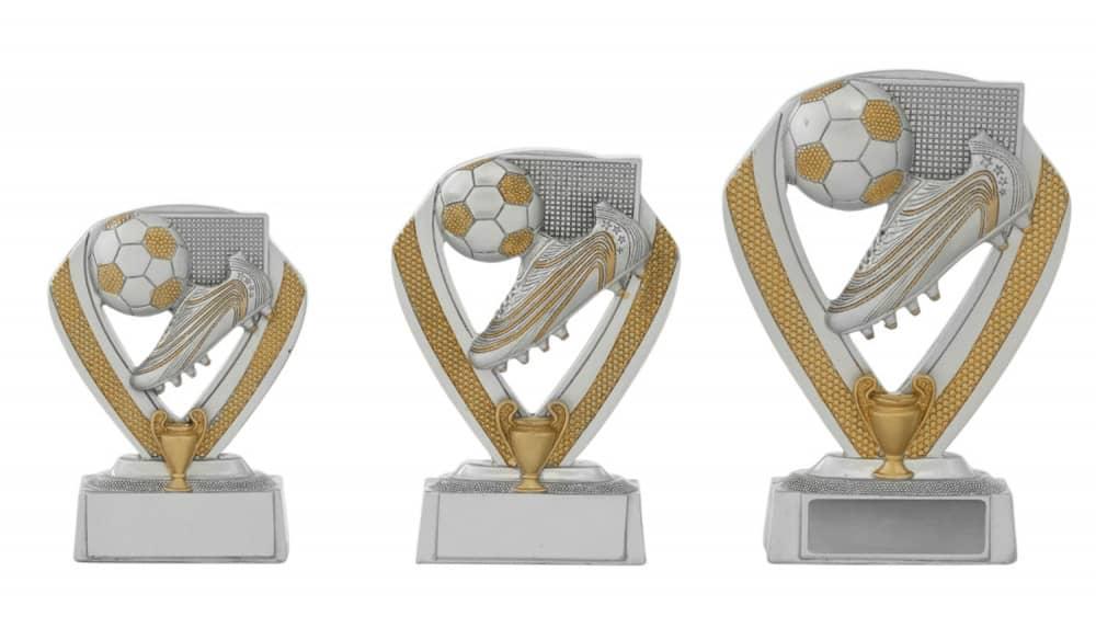 Fußballpokale 3er Serie C152 10 cm