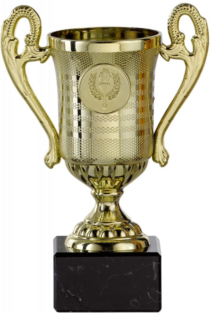 Pokale mit Henkel 3er Serie S146 gold