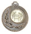 """SALE: Medaille """"Kamiros"""" Ø 50mm mit Wunschemblem und Band - Farbe - bronze"""