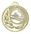 """SALE: Medaille """"Kamiros"""" Ø 50mm mit Wunschemblem und Band - Farbe - gold"""