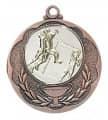 """Medaille """"Knossos"""" Ø 40mm mit Wunschemblem und Band - Farbe - bronze"""