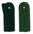 5-streifige Schulterstücke in grün
