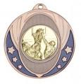 """Medaille """"Nemea"""" Ø 50mm mit Wunschemblem und Band - Farbe - bronze"""