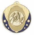 """Medaille """"Nemea"""" Ø 50mm mit Wunschemblem und Band - Farbe - gold"""