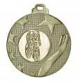 """Medaille """"Olynth"""" Ø 40mm mit Wunschemblem und Band - Farbe - bronze"""