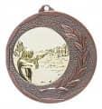 """Medaille """"Singos"""" Ø 40mm mit Emblem und Band - Farbe - bronze"""