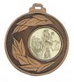 """Medaille """"Sunion"""" Ø 50mm mit Wunschemblem und Band - Farbe - bronze"""