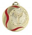 """Medaille """"Akragas"""" Ø 70mm mit Wunschemblem und Band - Farbe - gold"""