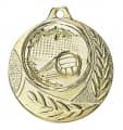 """Medaille """"Arezzo"""" Ø 40mm mit Wunschemblem und Band - Farbe - gold"""