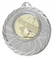 """Medaille """"Brinidis"""" Ø 50mm mit Wunschemblem und Band - Farbe - silber"""