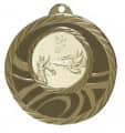 """Medaille """"Brinidis"""" Ø 50mm mit Wunschemblem und Band - Farbe - bronze"""