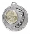 """Medaille """"Cava"""" Ø 50mm mit Wunschemblem und Band - Farbe - silber"""