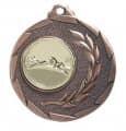"""SALE: Medaille """"Cava"""" Ø 50mm mit Wunschemblem und Band - Farbe - bronze"""