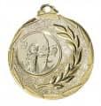 """Medaille """"Cava"""" Ø 50mm mit Wunschemblem und Band - Farbe - gold"""